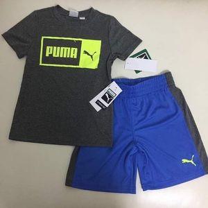 Puma active performance 2-pieces shorts set